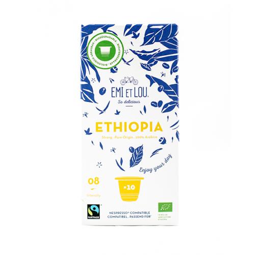 Arabica Ethiopia caps bio & faitrade (Emi et Lou)