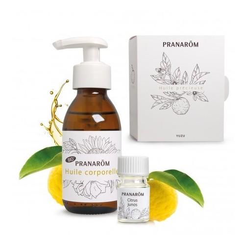 Coffret huile précieuse yuzu (Pranarôm)