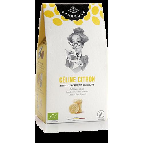 Biscuit fondant aux zestes de citron bio 125 g (Generous)