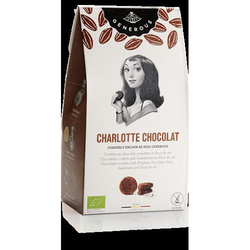 Chocolade cookies met hazelnoten en fleur de sel bio (Generous)