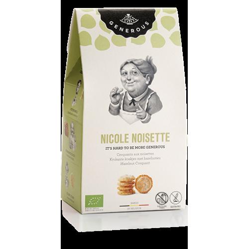 Krokante koekjes met hazelnoten bio (Generous)