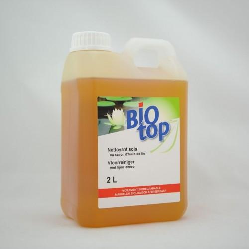 Vloerreiniger met lijnzaadolie ( Biotop)