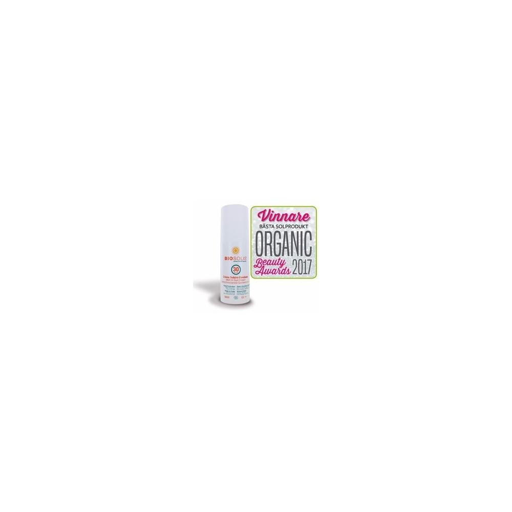 Crème fondante bio 30 SPF 100 ml (Biosolis)