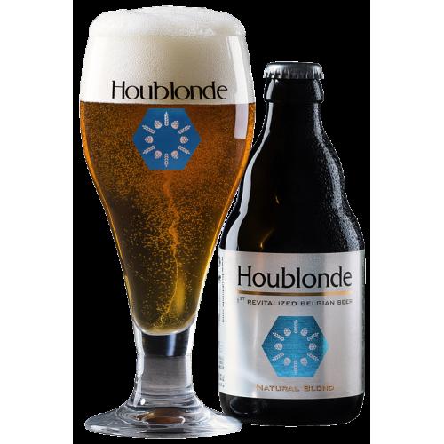 Houblonde 33 cl DLC 30/06/2019 (Brasserie Brunehaut)