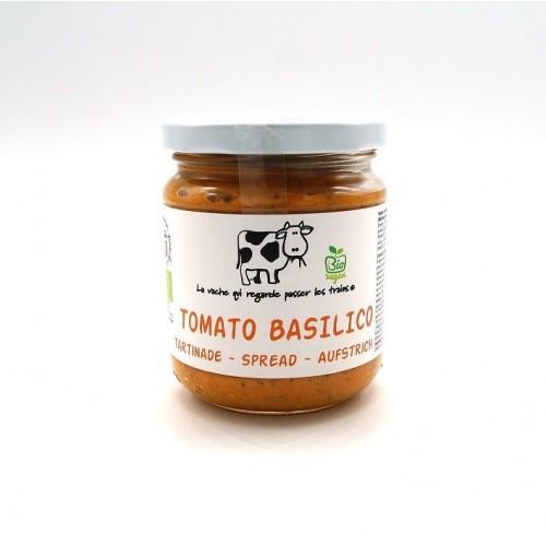 Tomato basilico spread 190 g (La vache qui regarde passer les trains)