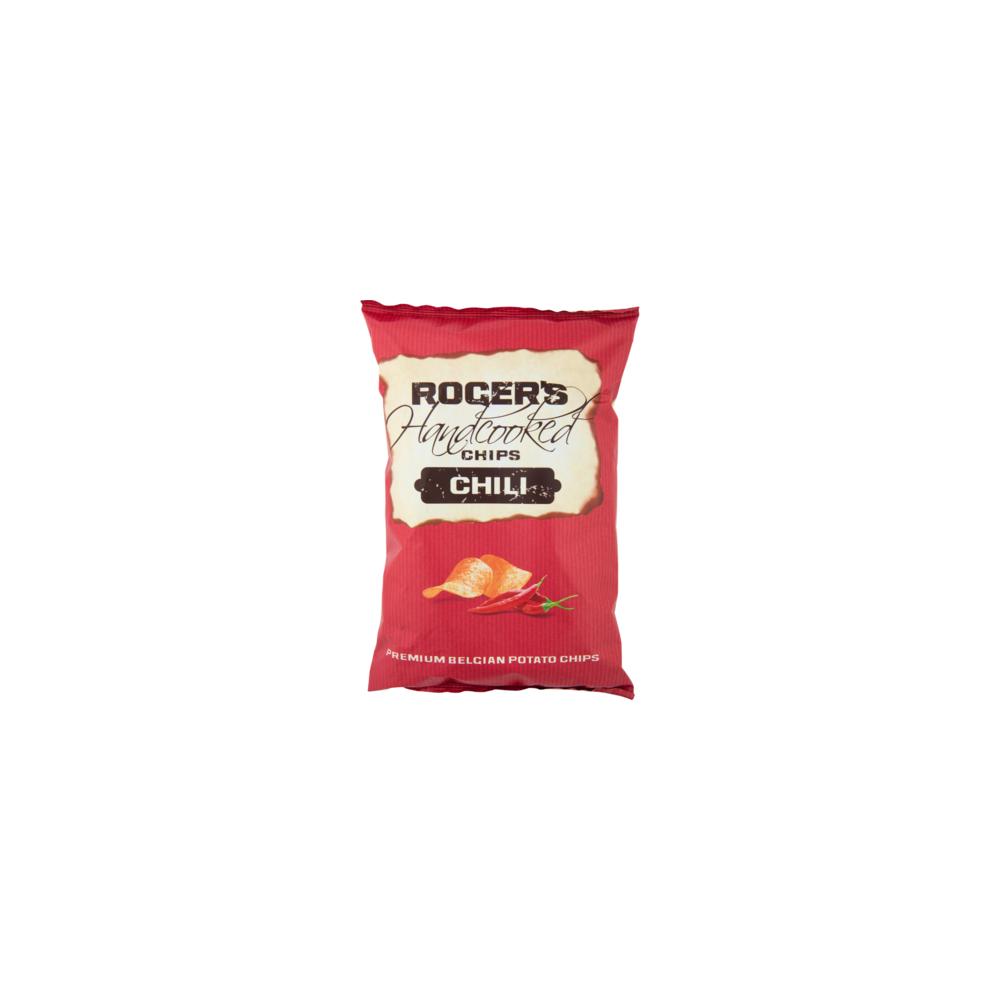 Black pepper & salt chips 150 g (Roger & Roger)