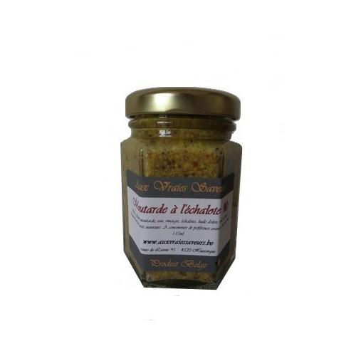 Moutarde à l'échalote (Aux vraies saveurs)