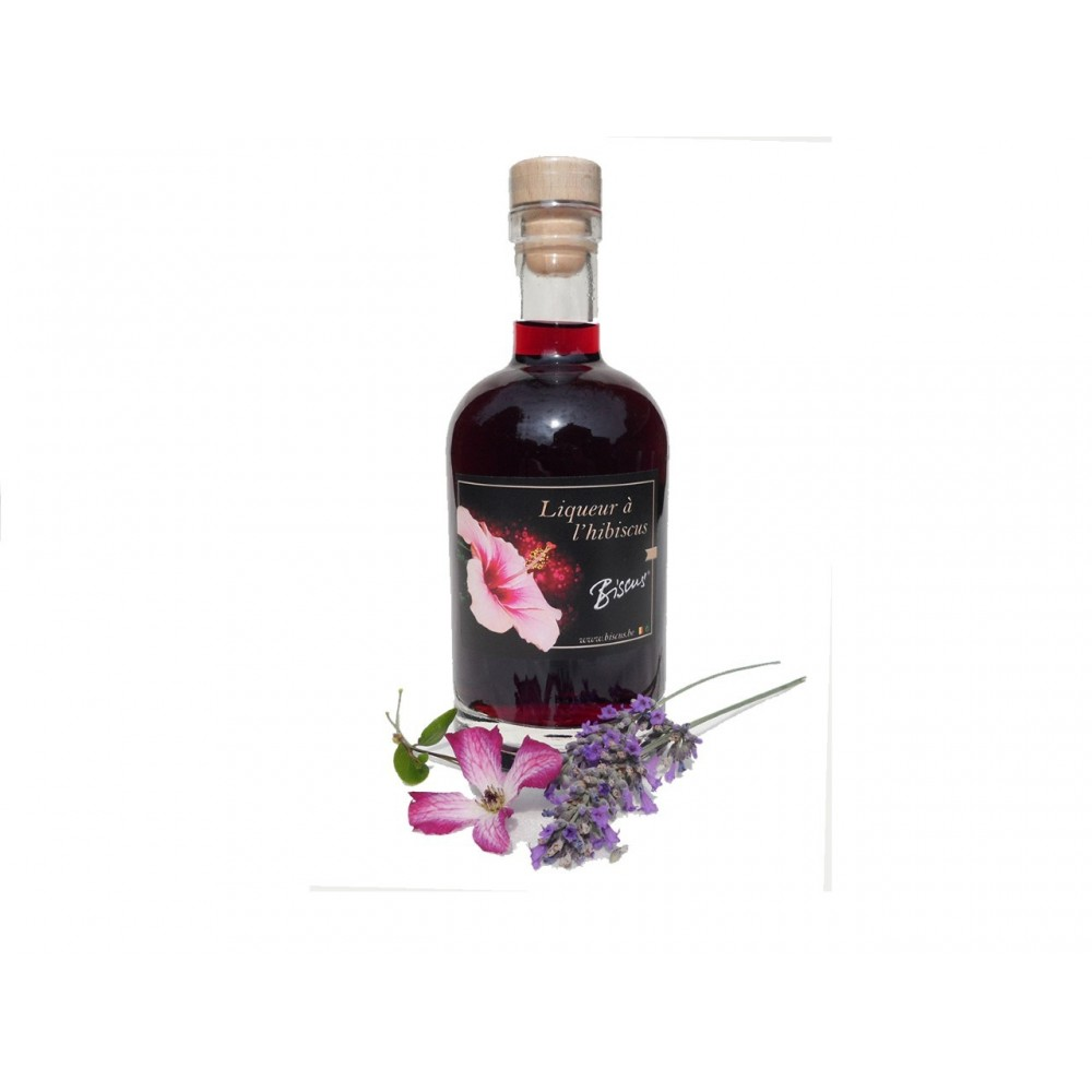Liqueur à l'Hibiscus 20 cl (Biscus)