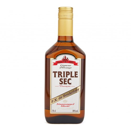 Triple sec curacao70 cl (FX De Beukelaer)