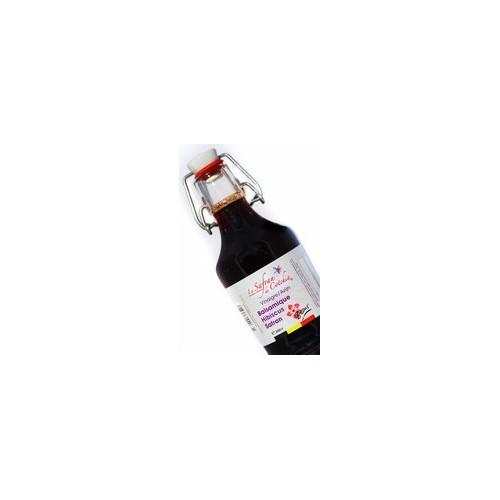 Vinaigre de framboise safrané  200 ml - Safran de Cotchia
