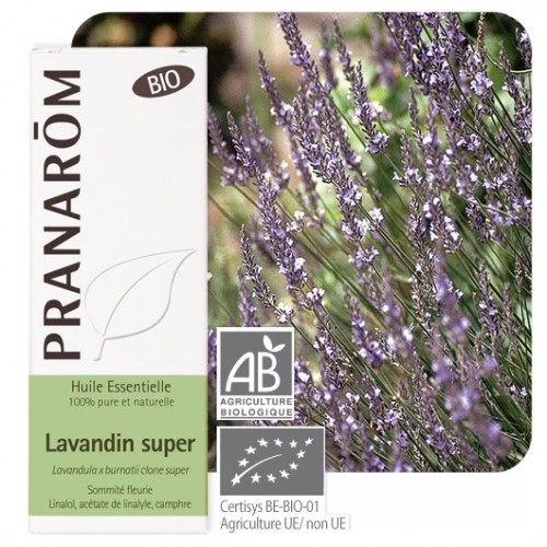 Essentielle olie bio lavandin super 10 ml (Pranarôm)
