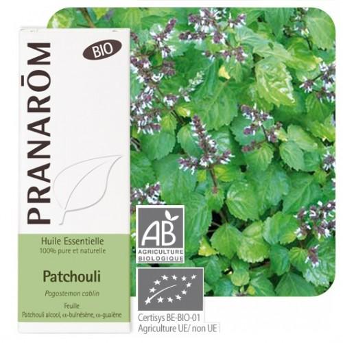 Patchouli bio 10 ml (Pranarôm)