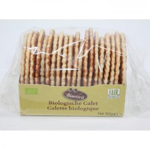 Galettes bio croquantes au sucre de canne 165 g (Biscovit)