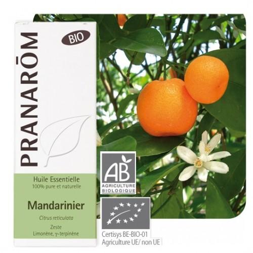Essentiële olie Mandarijn bio 10 ml (Pranarôm)