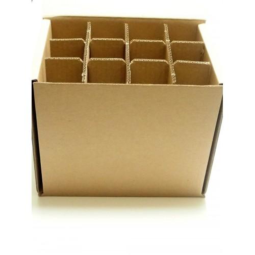 Box 12 bières 33 cl en carton