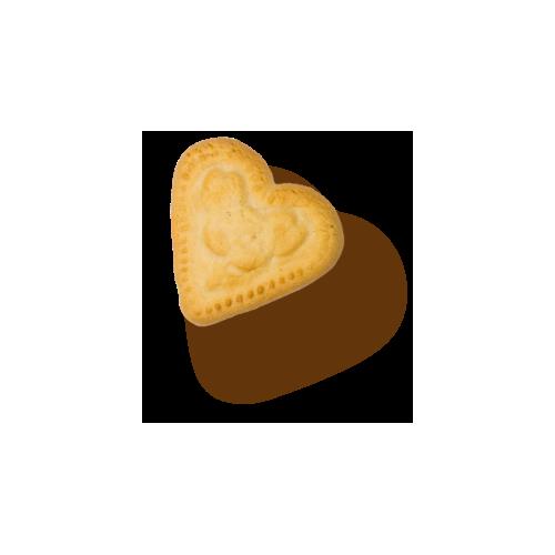 Hart in gekookte marsepein 2 x 50 g (Gicopa)
