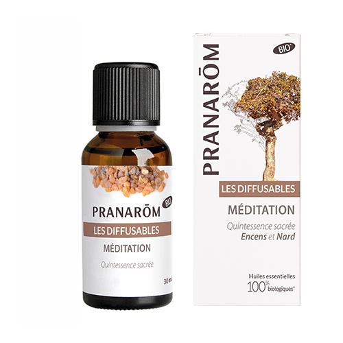 Essentiële olië voor verstuiver- Meditatie en Heilige geuren 30 ml (Pranarôm)