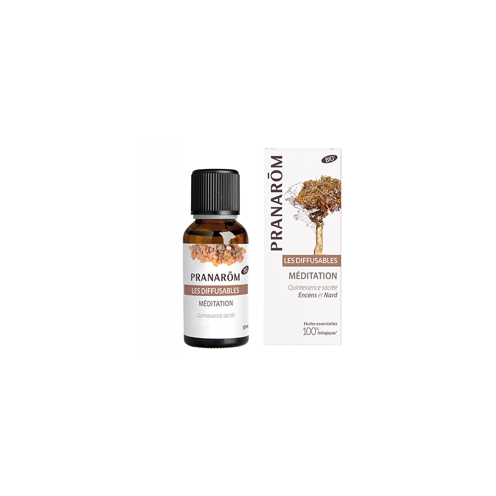 Diffusion-Méditation et Saintes odeurs 30 ml (Pranarôm)