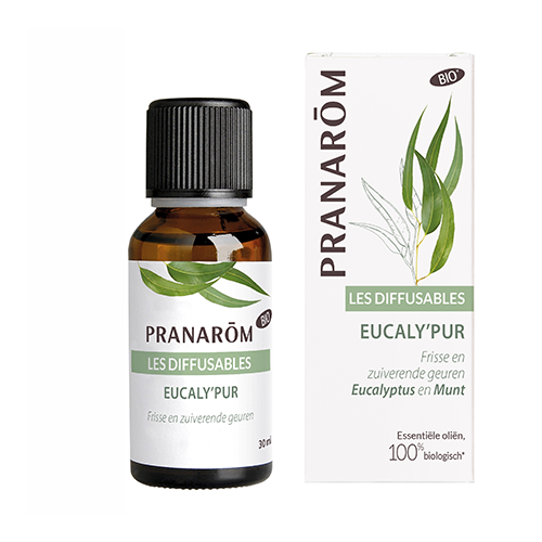 Essentiële olië voor verstuiver - Eucaly'Plus 30 ml (Pranarôm)