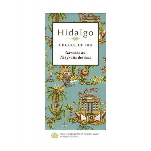 Ganache thé fruits des bois 80 g (Hidalgo) dlc 23/06/2019