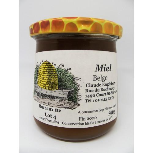Miel de printemps 500 g (Apiculteurs Brabant Wallon)