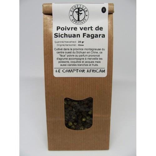 Poivre sauvage noir Voatsy Perifery 50 g (Comptoir africain)