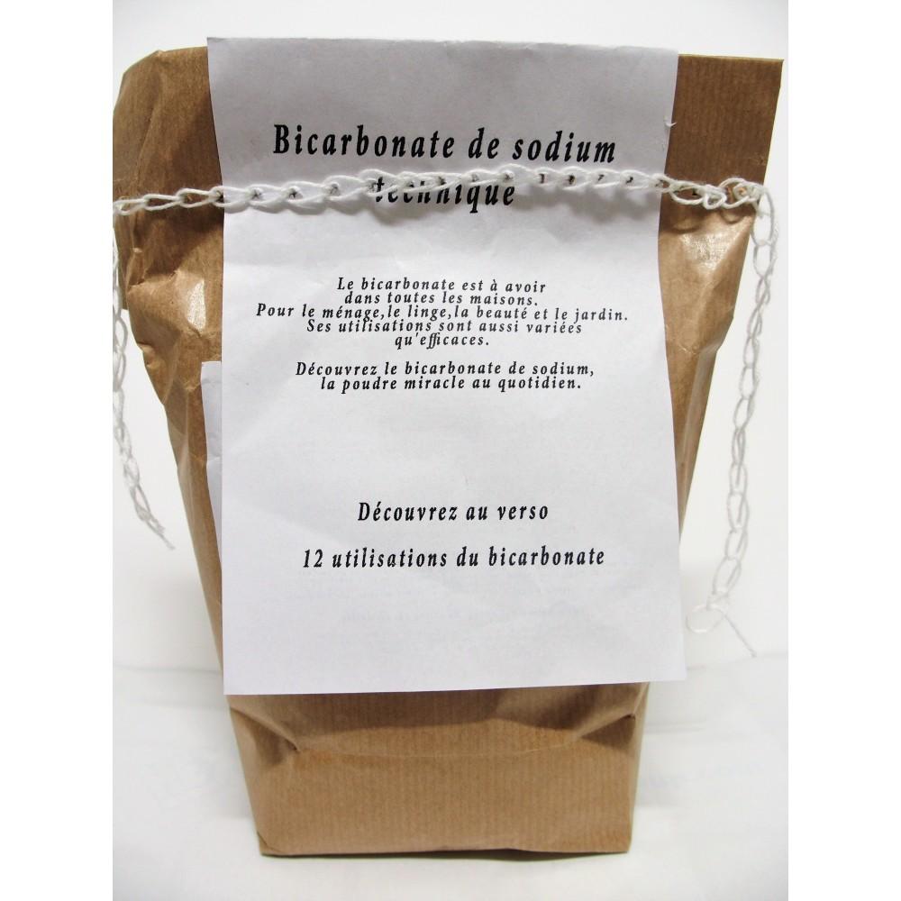 Bicarbonate de sodium recharge kraft 1 kg (Wallo-wash)