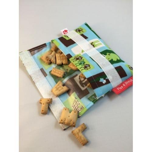 Herbruikbare zakje voor tussendoortjes  (Flax & Stitch)