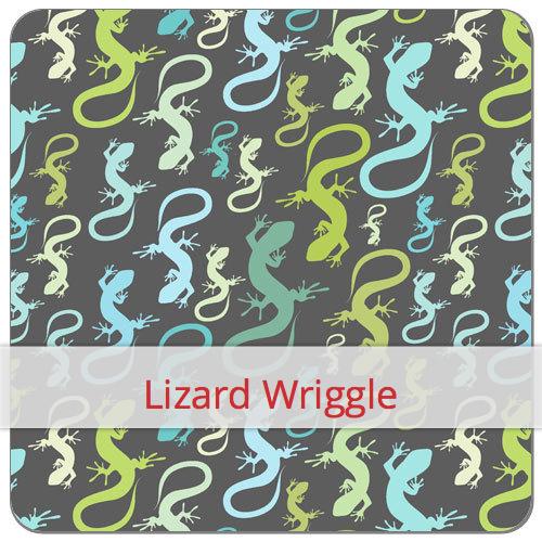 Pochette baguette - lizard wriggle (Flax & Stitch)