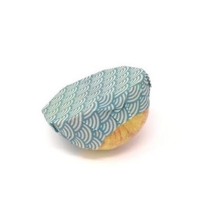 Bee Wrap bleu 18 cm (Wrapi)