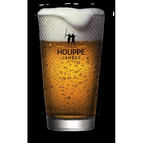 Glas La houppe 25 cl (Brouwerij L'Echasse)
