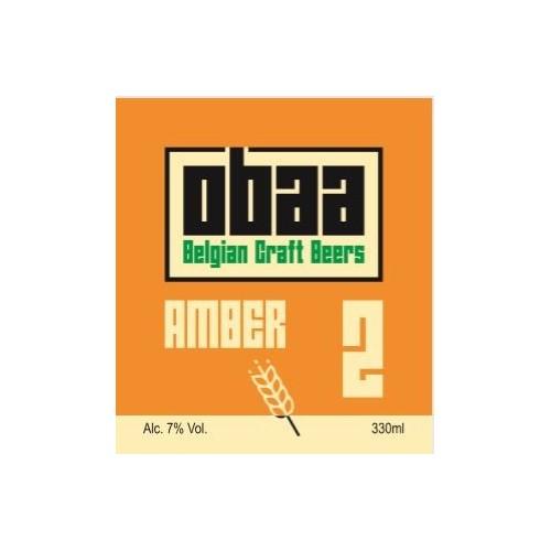 Obaa ambrée 33 cl (Brasserie Valduc)