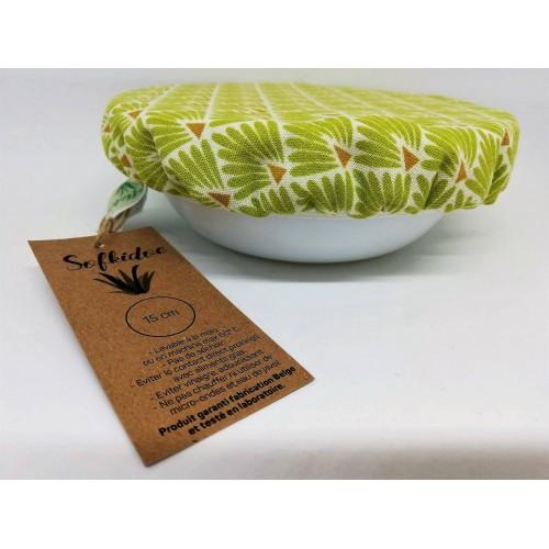 Deksel groene schubben 22.5 cm (Sofkidoe)