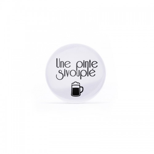 Badge belge 1 fois