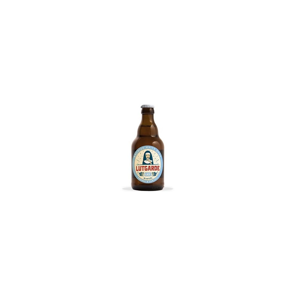 Lutgarde blanche 33 cl  (Abbaye d'Aywiers)