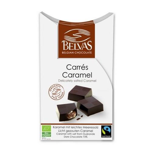 Carrés caramel salés bio&Fairtade