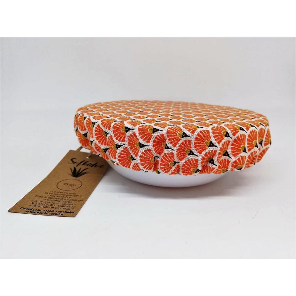Couvercle orange 15 cm (Sofkidoe)