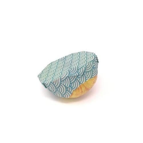 Bee Wrap blauw 18 cm (Wrapi)