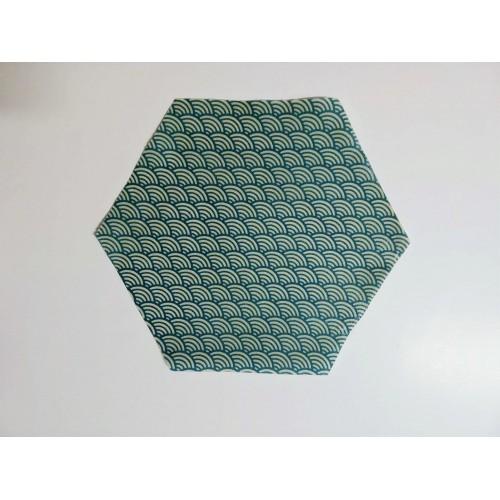 Bee Wrap turquois 18 cm (Wrapi)