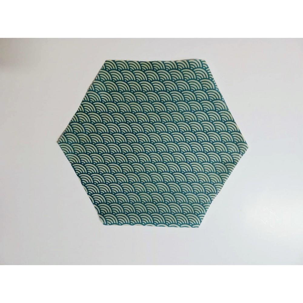 Bee Wrap turquois 24 cm (Wrapi)