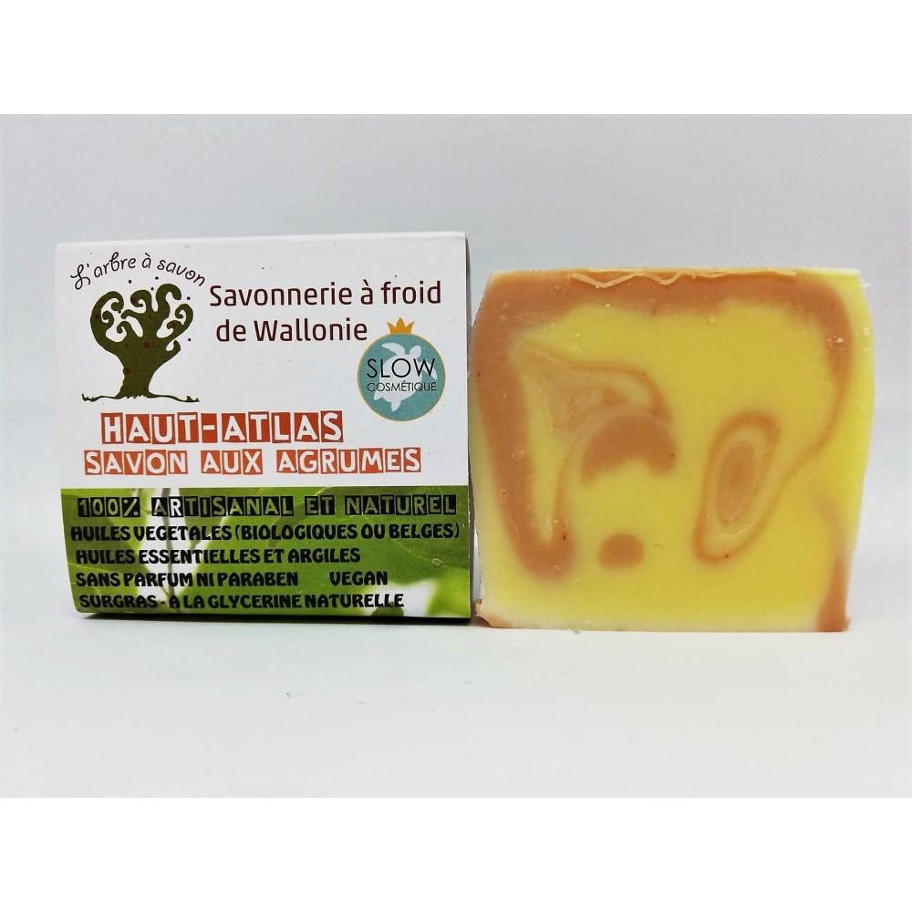Savon aux agrumes Haut-Atlas 100 g (l'Arbre à savon)