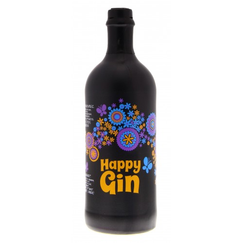 Happy gin 70 cl (Distillerie Rubbens)