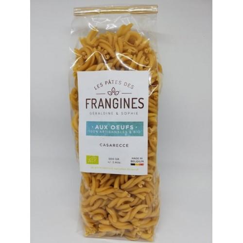 Eieren pastas Casarecce bio 500 g (Les pâtes de frangines)