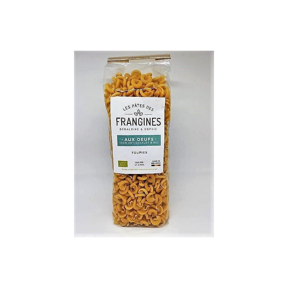 Pâtes aux oeufs toupies bio 500 g (Les pâtes de frangines)