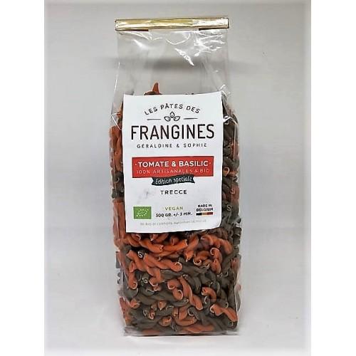 Pâtes tomate & basilic Trecce bio 500 g (Les pâtes de frangines)