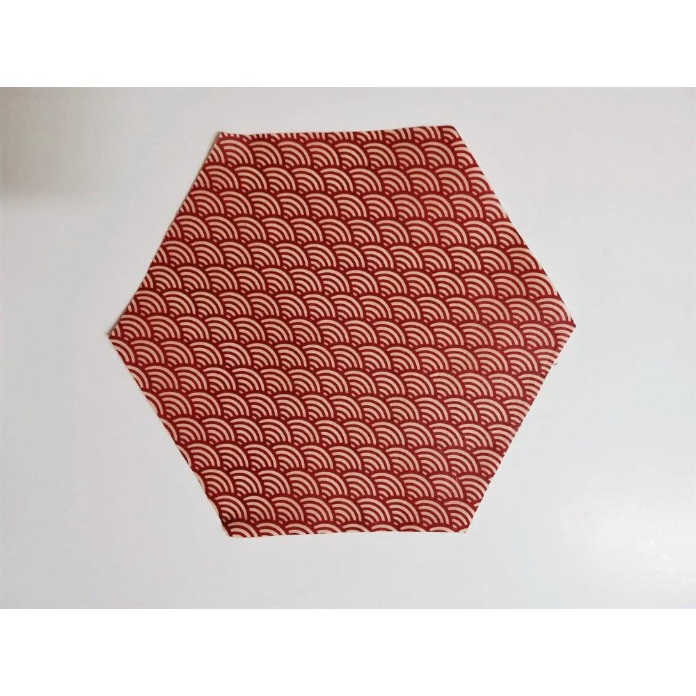 Bee Wrap rouge 24 cm (Wrapi)