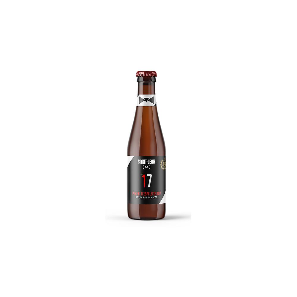 17 espelettepeper bier 33 cl (Saint-Jean)