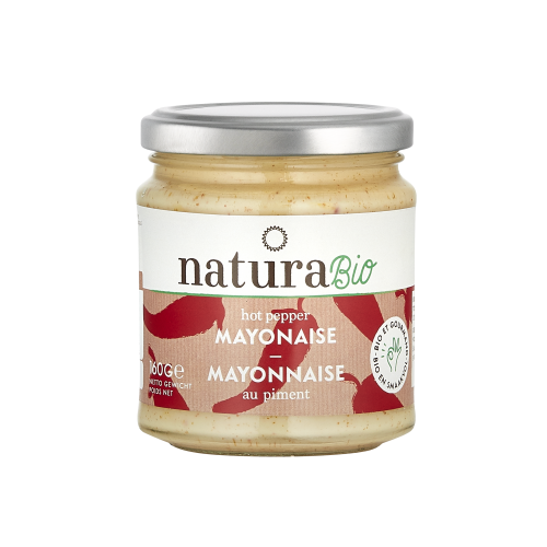 Hot pepper mayonaise bio 160 g (Natura)
