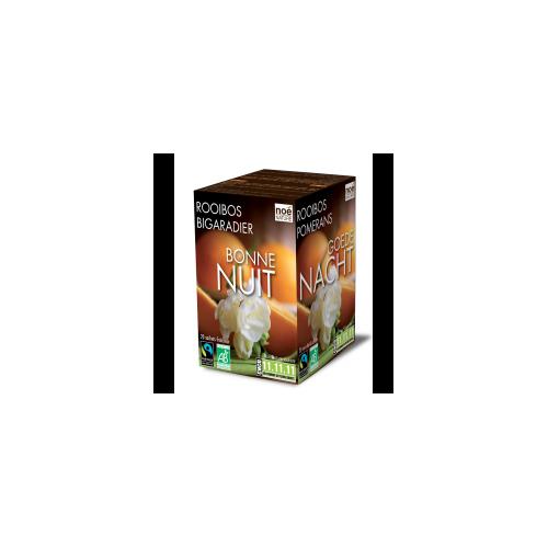 Pleine forme thé vert/rooibos bio 20 inf. (Noé Nature)