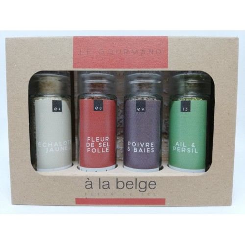 Coffret fleur de sel - gourmand (A la belge)